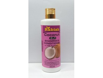 RABIAH 2 IN 1 SHAMPOO + CONDITIONER 200 ML