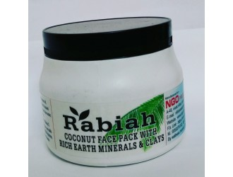 RABIAH COCONUT FACE MASK WITH RICH EARTH CLAY 500 ML