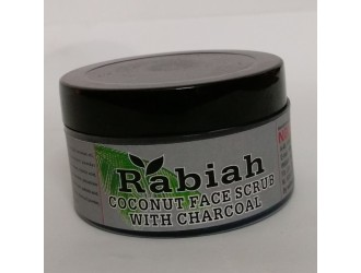RABIAH COCONUT FACE & BODY SCRUB WITH CHARCOAL 60 GM